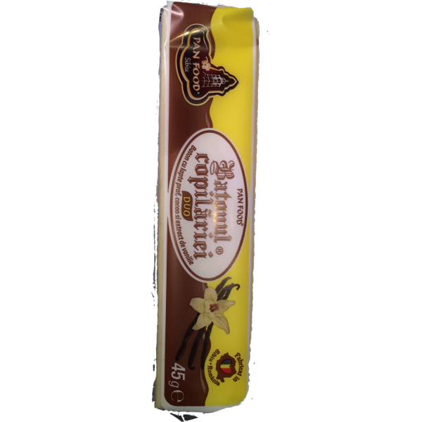 (4)PAN FOOD 45 GR CHOCOLATE DUO CHILDHOOD