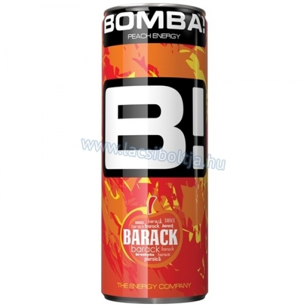 BOMBA ENERGY DRINK PEACH 250 ML