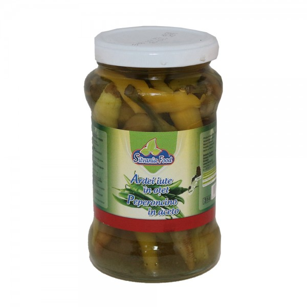 (2)SILVANIA FOOD HOT PEPPERS 370 G  12/BAX