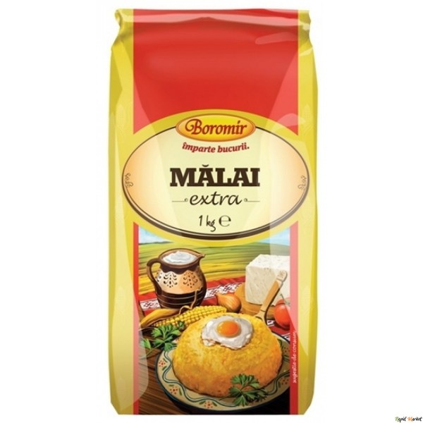 (1)BOR CORN FLOUR 1 KG 10/BAX (MALAI)