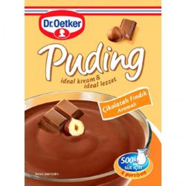 (1)DRO CHOCOLATE PUDDING WITH HAZELNUT 48 GR 35/BAX