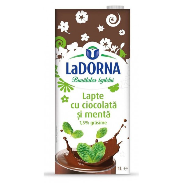 DORNA CHOCOLATE MILK WITH MINT 1.5% 1L