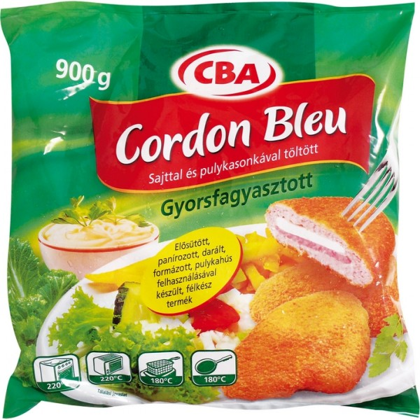 CBA CORDON BLEU KINGA 1000 GR MUSHROOMS
