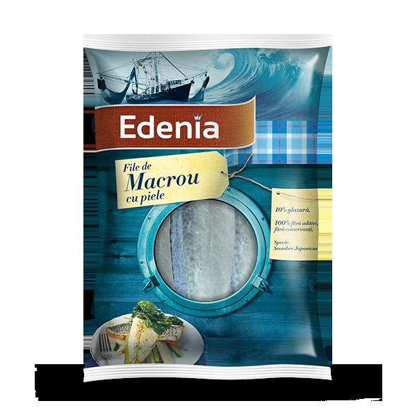 MACROMEX FILLET MACKEREL 600 GR EDENIA