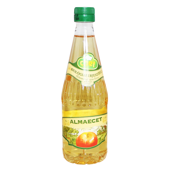 (2)CHEF APPLEVINEGAR 0.5 L 5%