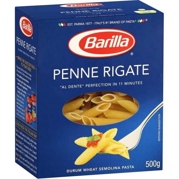 (1)BARILLA PENNE RIGATE 500 GR 30/BAX