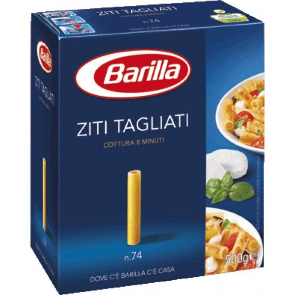 (1)BARILLA ZITI TAGLIATI 500 GR 30/BAX