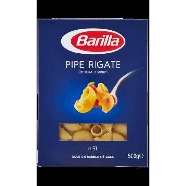 (1)BARILLA PIPE RIGATE 500 GR 30/BAX