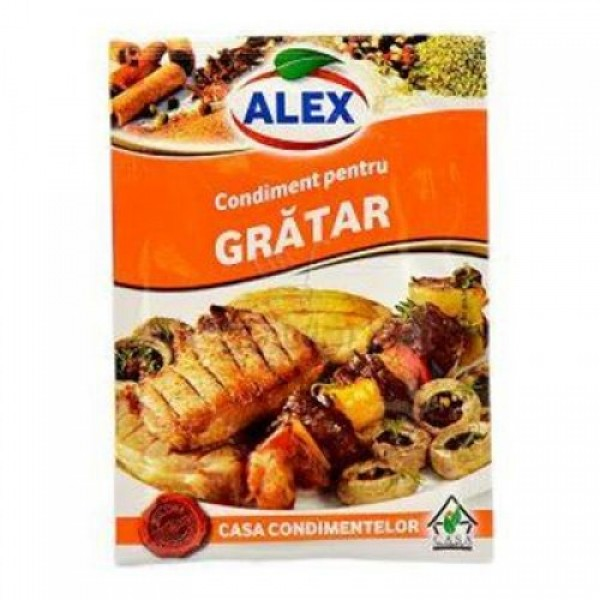 ALEX BARBEQUE SPICES 18 GR