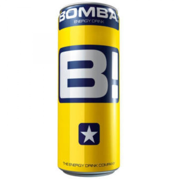 (DRINKS) BOMBA ENERGY DRINK 250 ML CLASSIC CAN