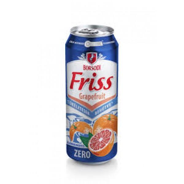 (DRINKS) BORSODI ZERO GRAPEFRUIT 500 ML