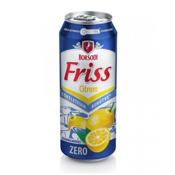 (DRINKS) BORSODI ZERO LEMON 500 ML