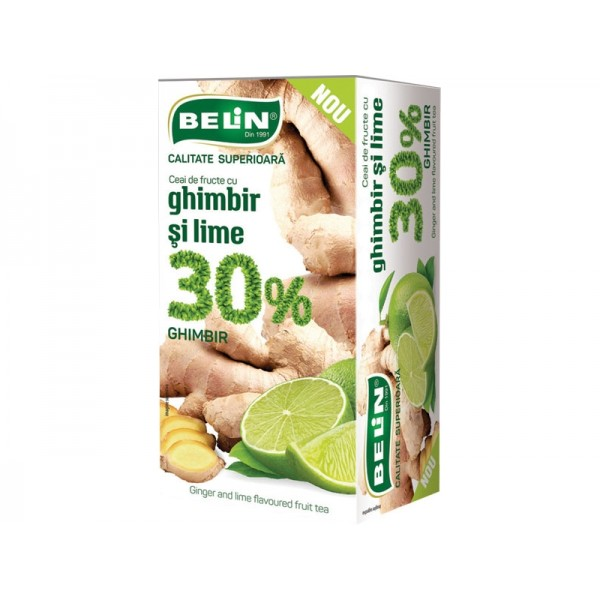 (4)BELIN TEA 30% GINGER & LIME 20 PL