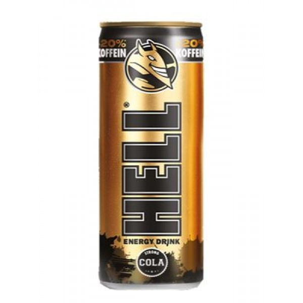 (DRINKS) HELL ENERGY DRINK STRONG COLA 0.25 L 24/BAX