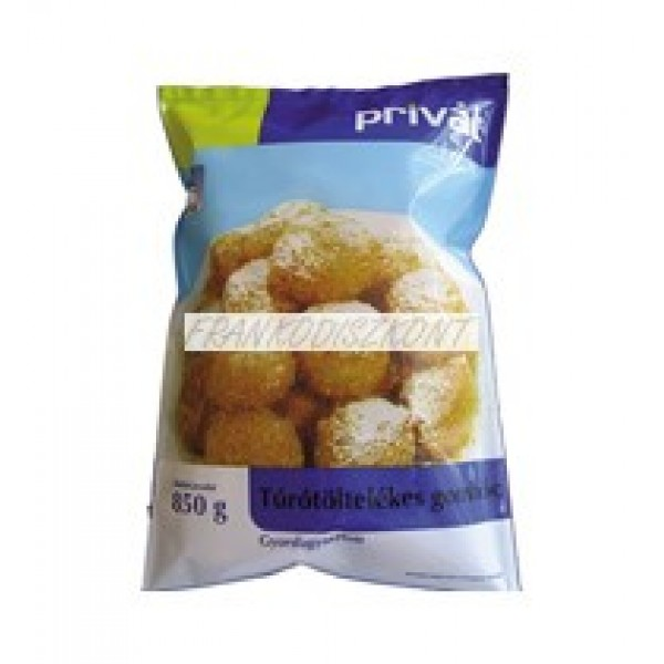 (FROZEN) PRIVAT COTTAGE CHEESE DUMPLINGS 850G (TUROTOLTELEKES GOMBOC)