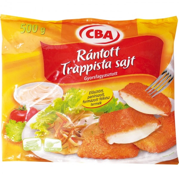 CBA TRAPPISTA  PANNE CHEESE 500 GR