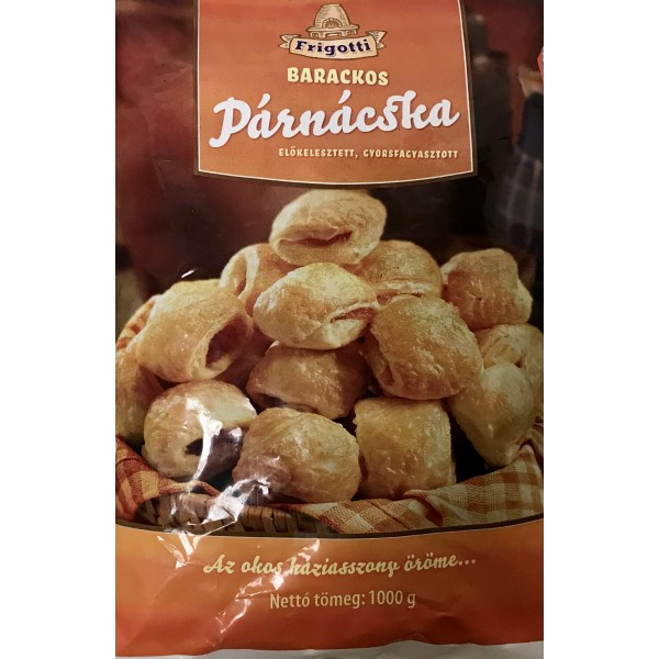 (FROZEN) FRIGOTTI PILLOWS WITH PEACH 1000GR (OSZIBARACKOS PARNACSKA)