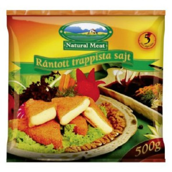 (FROZEN) NATURAL MEAT FROZEN FRIED CHEESE 500 GR (TRAPPISTA)