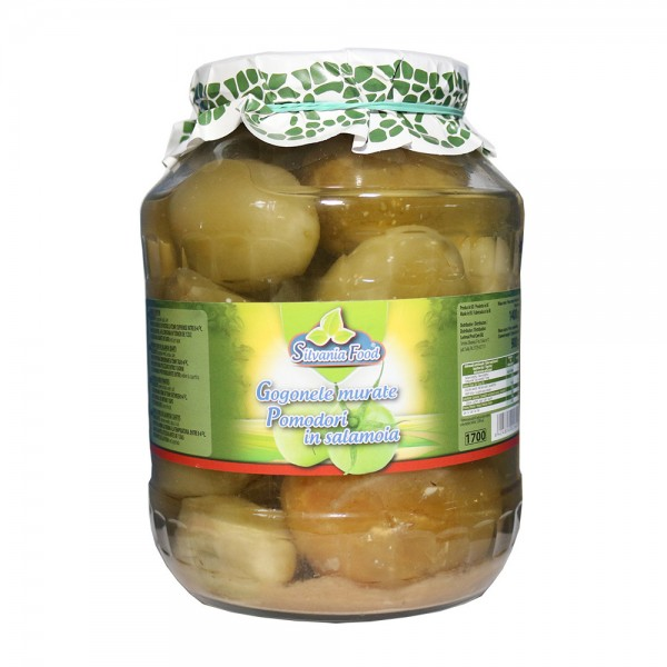 (2)SILVANIA FOOD PICKLED GREEN TOMATOES 1700 ML 6/BAX