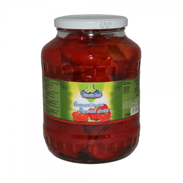 (2)SILVANIA FOOD PEPPERS 1.7L