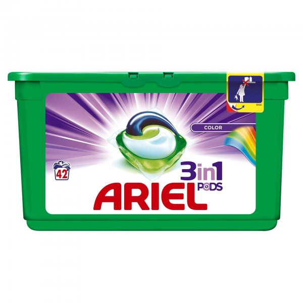 ARIEL CAPSULE COLOR 42X29.9 ML