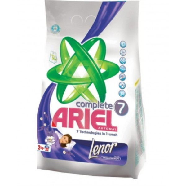 ARIEL AUT LENOR TOUCH AROMATHER 4 KG