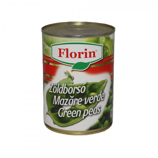 (2)FLORIN PEAS 425 ML 12/bax