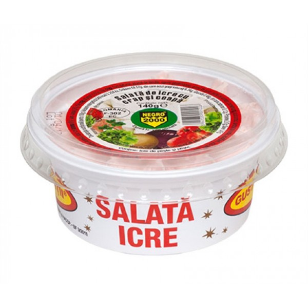 NEGRO  CARP ROE SALAD WITH ONION GASTRONATURA 140 GR