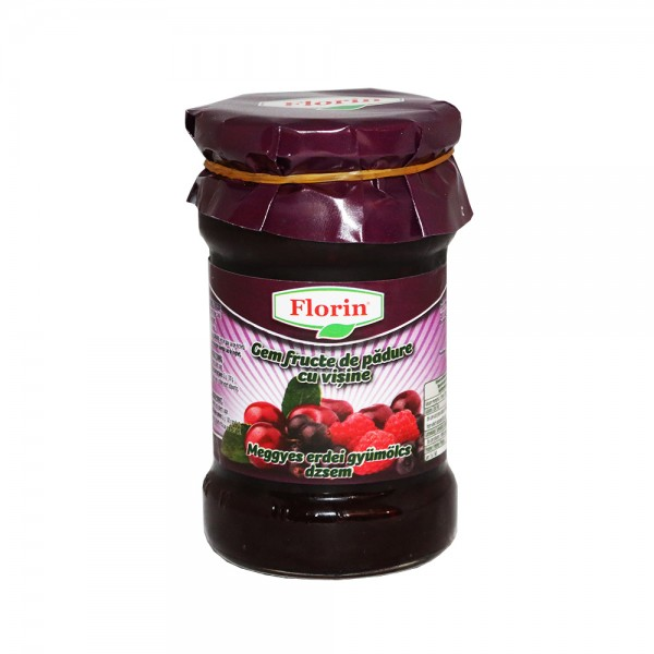 (2)FLORIN MIXED FORESTBERRIES JAM WITH SOUR CHERY 360 GR