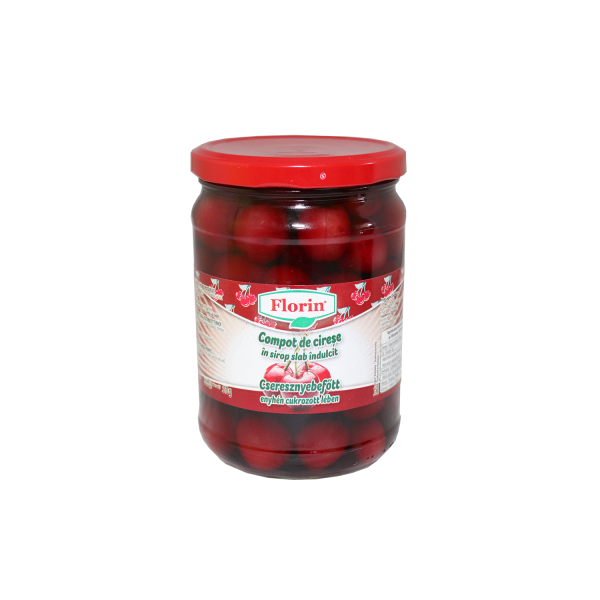 FLORIN CHERRY COMPOTE 580ML