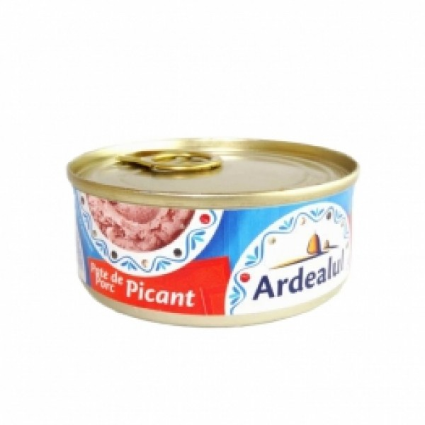 ARDEALUL HOT PORK PATE 100GR 6/BAX