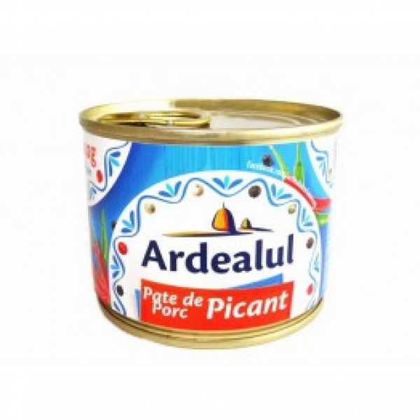 ARDEALUL HOT PORK PATE 200GR 6/BAX
