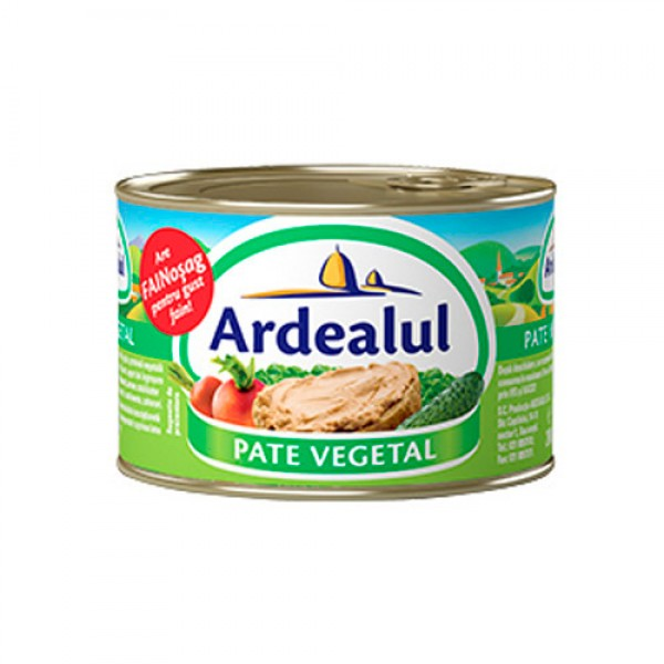 (3)ARDEALUL VEGETABLE PATE 200 GR 6/BAX