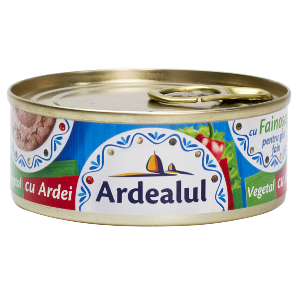 ARDEALUL PATE WITH PEPPER 100GR