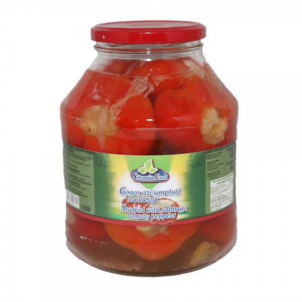(2)SILVANIA FOOD PEPPERS FILLED WITH CABBAGE 1.7L