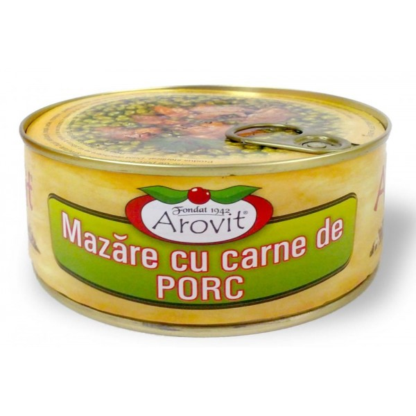 (3)AROVIT GREEN PEAS WITH PORK 300 GR
