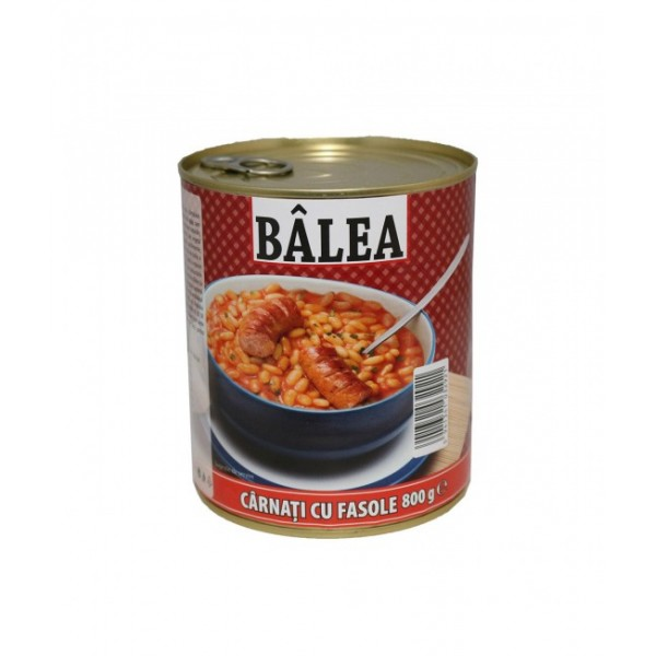 (3)BALEA SAUSAGES WITH BEAN 800 GR