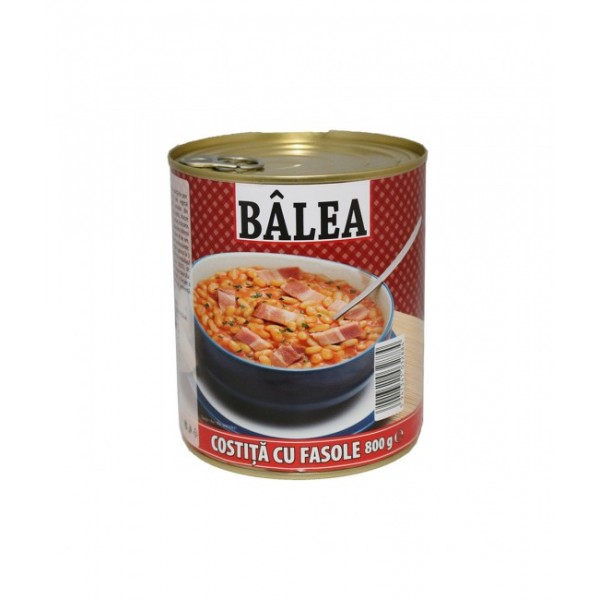 BALEA BACON WITH BEANS 800 GR