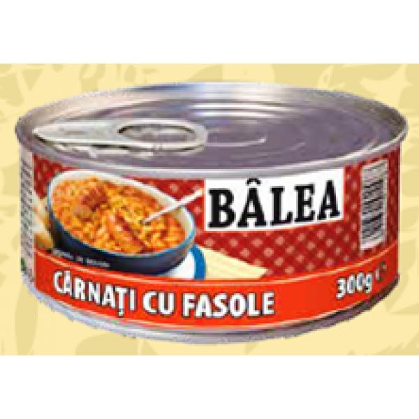 BALEA SAUSAGES WITH BEANS 300 GR