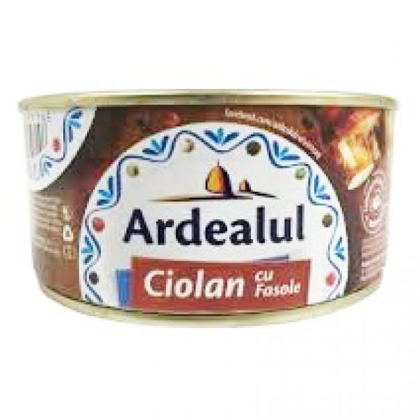 ARDEALUL KNUCKLE WITH BEANS 300 GR 6/BAX