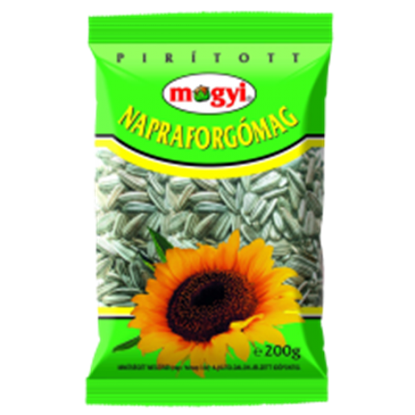 (4)MOGYI SUNFLOWERS SEEDS 200 GR