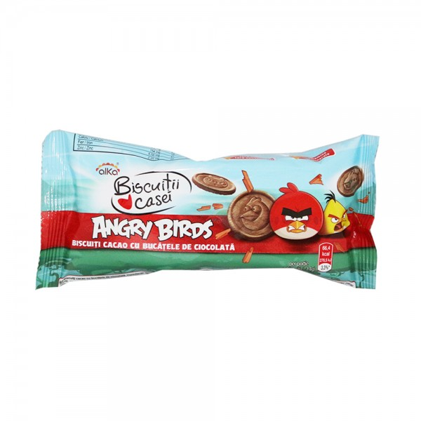 ALKA BISC ANGRY BIRDS COCOA CHIPS 55GR