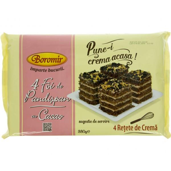 (1)BOR COCOA CAKES SPONGE 380 GR