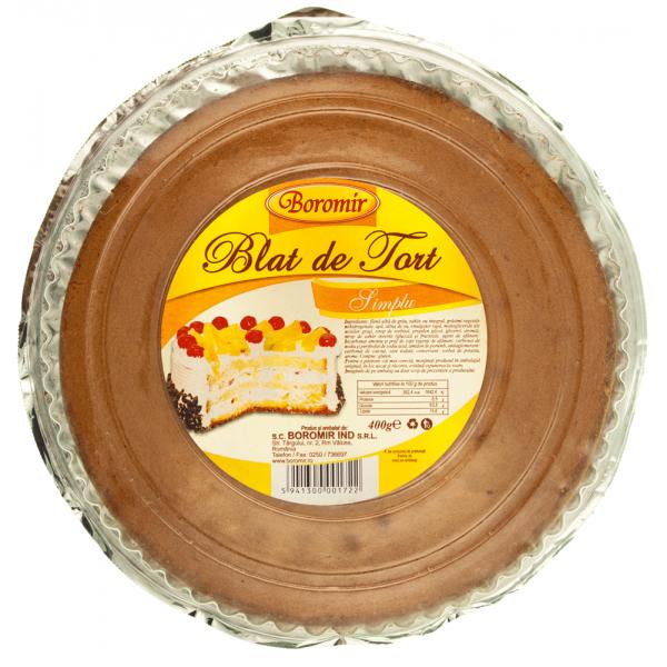 (1)BOR CAKE DOUGH VANILLA  6/BAX