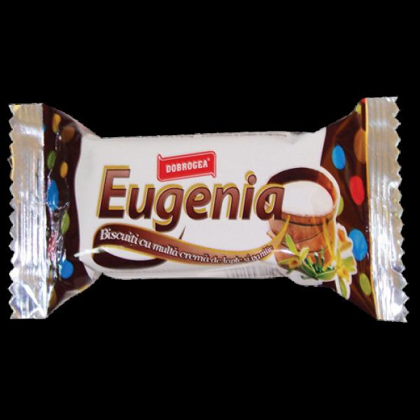 (1)DOBROGEA BISCUITS SANDWICH MILK+VANILLA 24/b