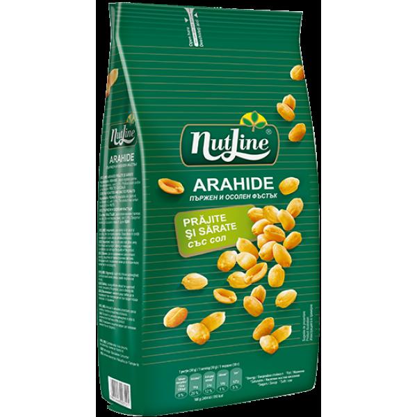 (4)NUTLINE DRY OIL ROASTED PEANUTS 300GR