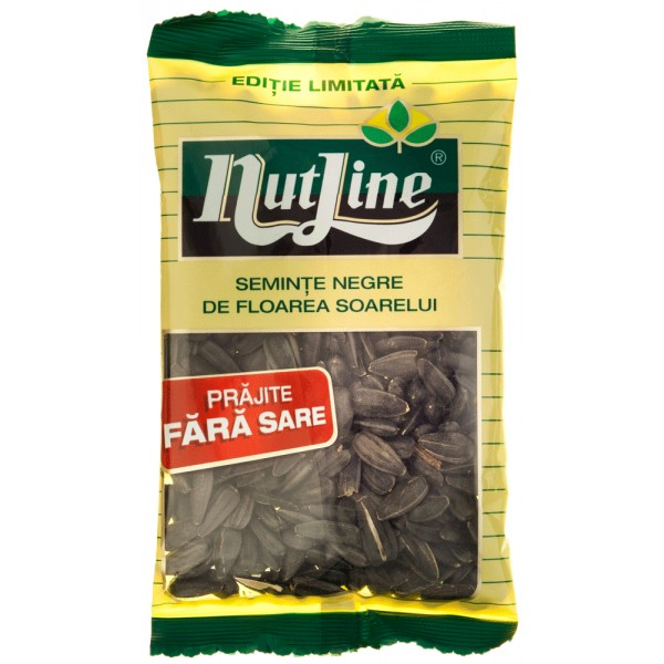 (4)NUTLINE BLACK SUN FLOWERS SEEDS WITHOUT SALT 40 GR 18/BAX