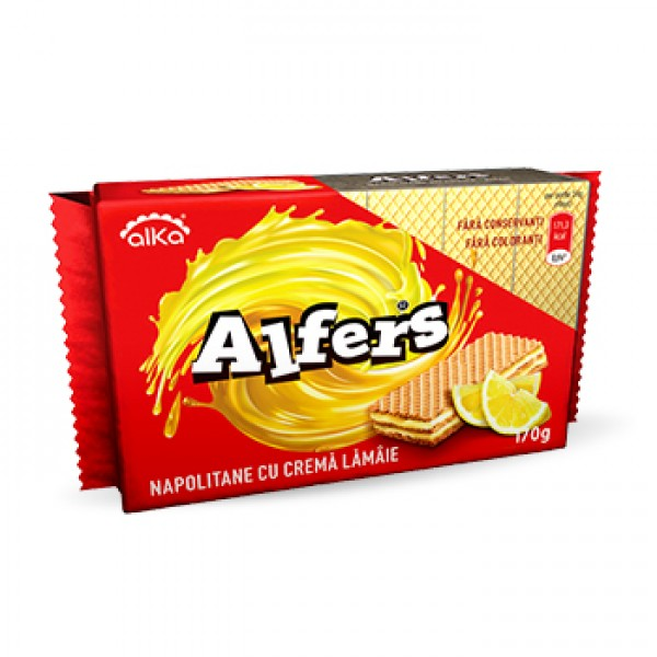 (1)ALFERS WAFERS WITH LEMON CREAM 170 GR