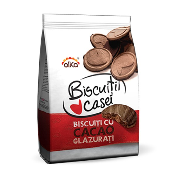 ALKA COCOA HOUSE ICING BISCUITS 180 GR