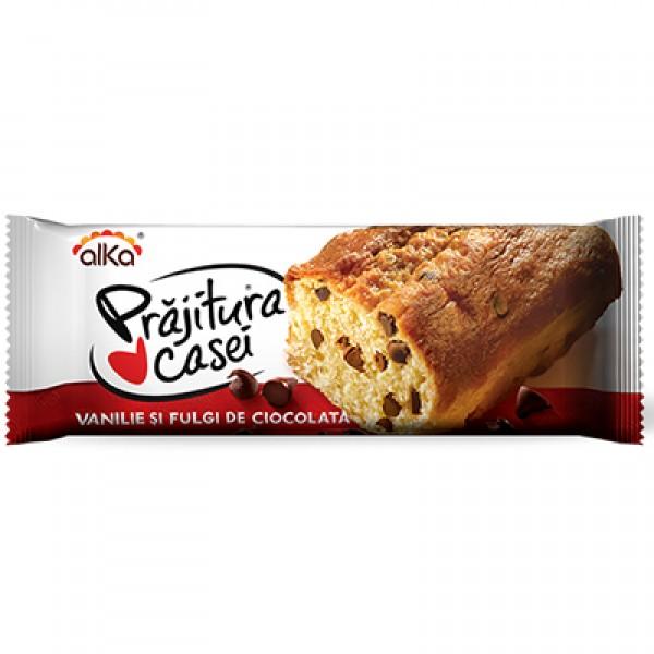 (1)ALKA VANILLA CAKE& CHOCO.FLAKES 300 GR 12/BAX